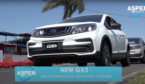 Geely Paraguay pone a prueba la NEW GX3