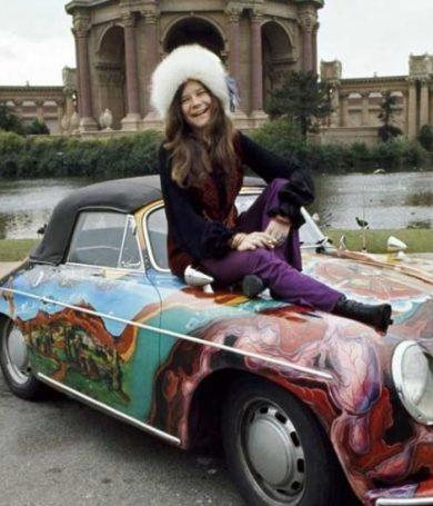 Subastarán el famoso auto psicodélico de Janis Joplin