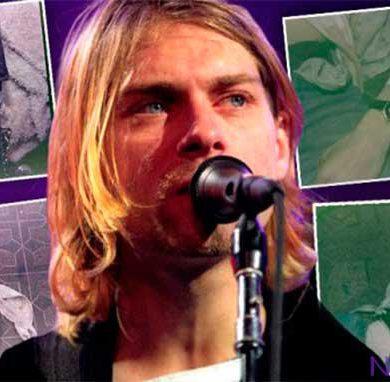 Aparecen nuevas fotos de Kurt Cobain el día de su muerte