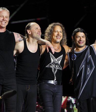 El nuevo disco de Metallica está casi listo