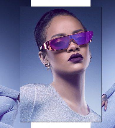 Rihanna se inspira en Star Trek para su nueva colección de anteojos