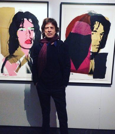 Mick Jagger de 73 años, fue padre por octava vez