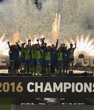 El Seattle Sounders FC, es el Campeón de la Copa MLS con Nelson Haedo Valdez