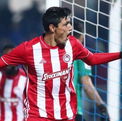 Apareció 'Tacuara' para la victoría del Olympiacos en la Super Liga de Grecia