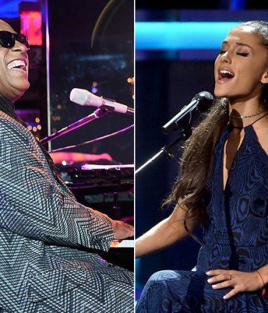 """Faith"", la canción que junta a Stevie Wonder con Ariana Grande"