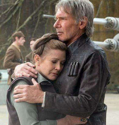 Carrie Fisher pidió a Harrison Ford que cante en su memorándum