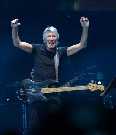Un Roger Waters polémico criticó la violencia y el capitalismo