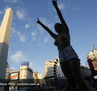 Las mujeres marcharon por igualdad de género en Argentina