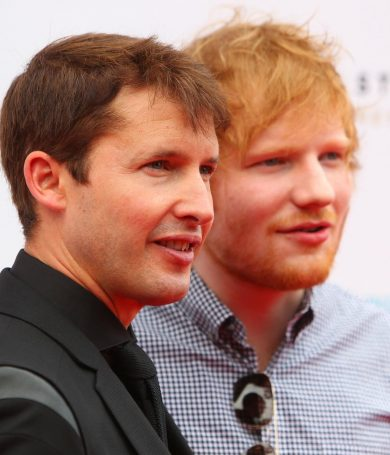Ed Sheeran compartirá escenarios con James Blunt