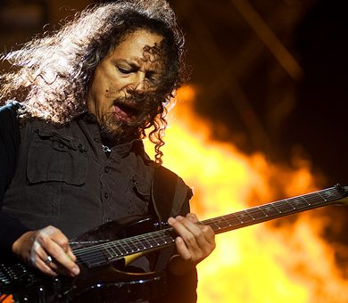 Kirk Hammett no quiere tardar ocho años para lanzar un nuevo disco.