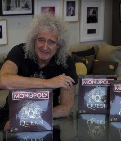 Brian May presentó el nuevo Monopoly inspirado en Queen