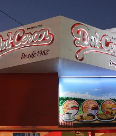Dul-Cesar inauguró su stand en la Expo