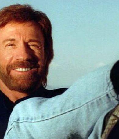 Chuck Norris: el que sobrevivió a dos infartos.
