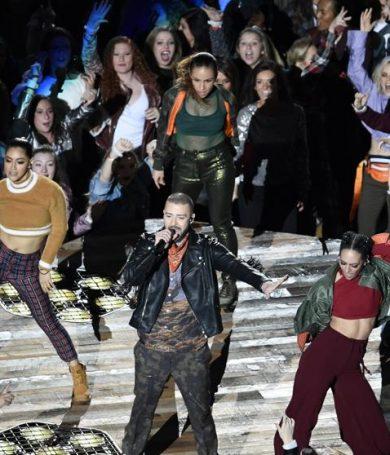 Justin Timberlake homenajea a Prince en el show de la Super Bowl 2018