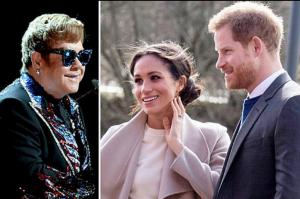 Elton John canceló dos conciertos para estar presente en la boda real.