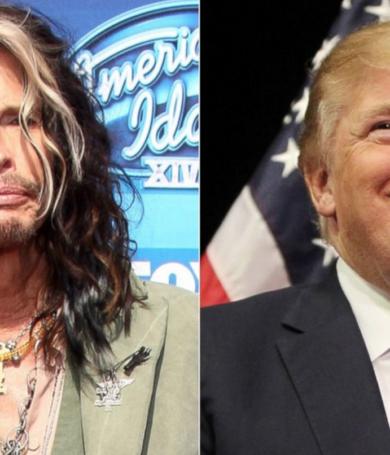 Steven Tyler pidió a Trump que no use canciones de Aerosmith