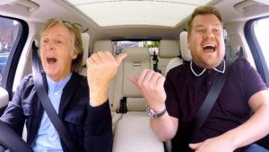 El Carpool Karaoke de Paul McCartney y James Corden tendrá un especial de televisión