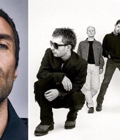 Liam Gallagher atacó a Radiohead