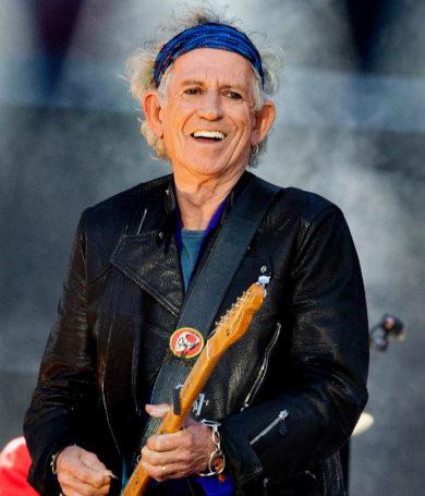 Keith Richards deja el alcohol a los 75 años
