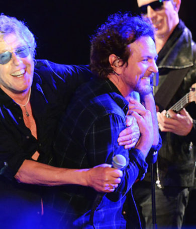 The Who anunció un show en el estadio Wembley junto a Eddie Vedder
