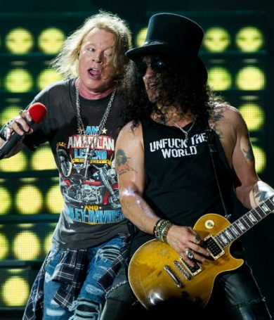 Slash confirmó que un nuevo álbum de Guns N' Roses está en producción