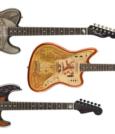 Fender se suma al merchandising relacionado con Juego de Tronos
