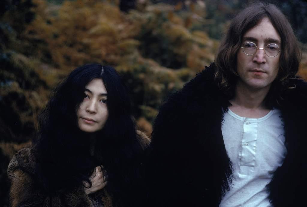 John Lennon y Yoko Ono de Luna de Miel 50 años después