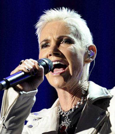 Marie Fredriksson del dúo sueco Roxette cumple hoy 61 años