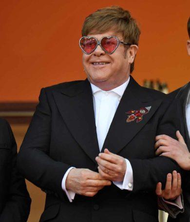 """Elton John presente en la presentación de """"Rocketman"""""""