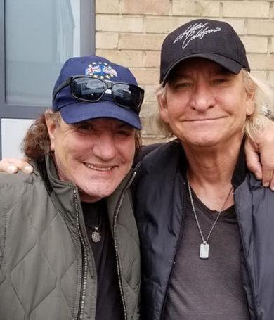 Dos figuras importantes de Eagles y AC/DC se unen en un nuevo proyecto