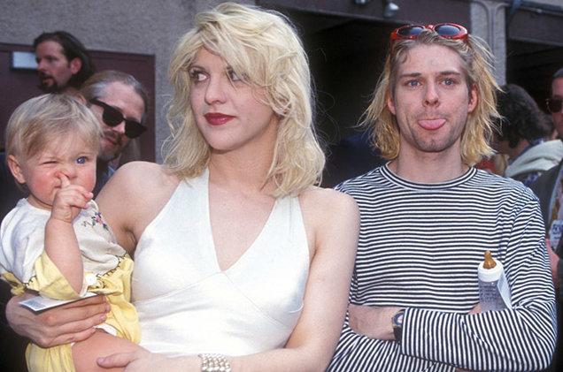 Courtney Love afirmó que el fantasma de Kurt Cobain la visitó