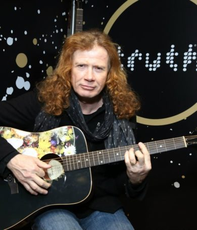 Dave Mustaine, líder de Megadeth, reveló que padece de cáncer de garganta