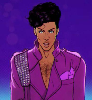 """Prince regresa con """"Holly Rock"""" en su clip animado y muy colorido"""