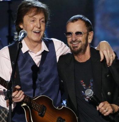 Paul y Ringo tocaron juntos otra vez