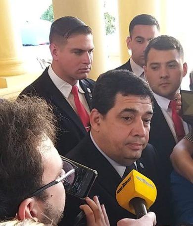 Vicepresidente Hugo Velázquez niega tener representante y asegura que no intervino en Acta