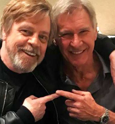 Este fue el primer ensayo de Mark Hamill y Harrison Ford para Star Wars