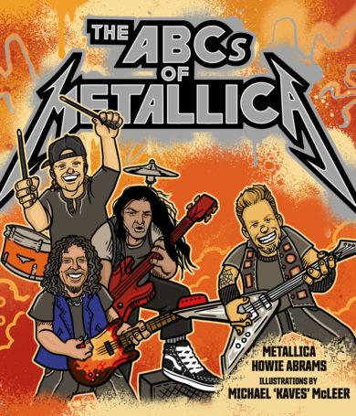 Metallica lanzará un libro ilustrado para niños
