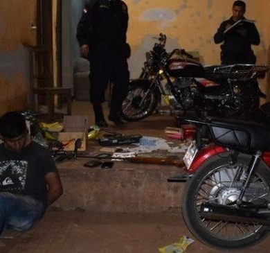 Descubren cueva de motochorros en Luque, a través de GPS de una moto robada