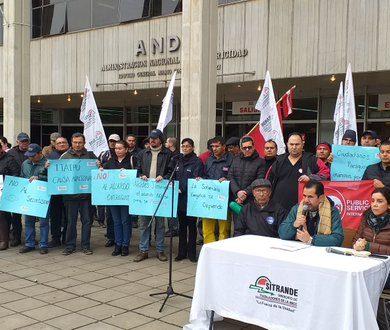 Sindicalistas de ANDE anuncian manifestaciones rechazando Acta Bilateral de Itaipú