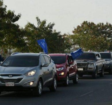 PLRA denuncia bloqueo de movilización y niega reacción contra policías