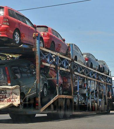 Casi 90% de vehículos importados supera los 10 años de antigüedad