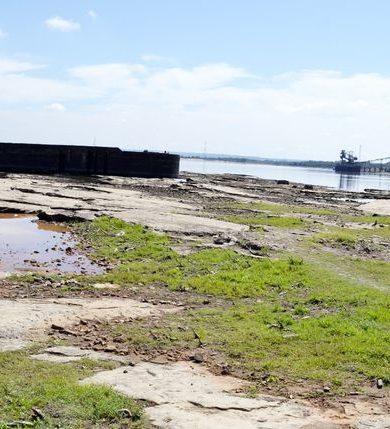 Bajante del Río Paraguay ya afecta navegabilidad