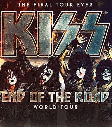 Kiss confirma fecha de concierto en Paraguay