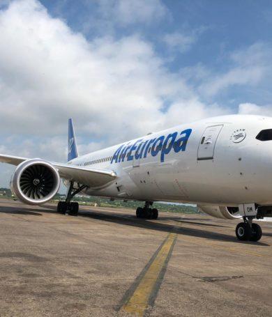 Llegó a Paraguay el Boeing 787 de Air Europa