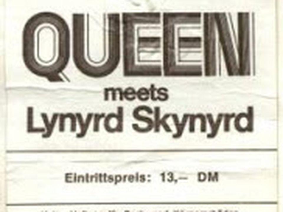 El día que Lynyrd Skynyrd teloneó a Queen pero se robó todo el show