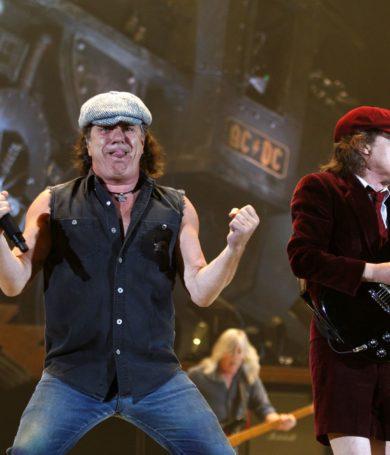 AC / DC lanzará un nuevo álbum y  tendría una gira con Brian Johnson