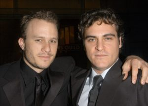 Así homenajeó Joaquin Phoenix a Heath Ledger tras 12 años de su muerte