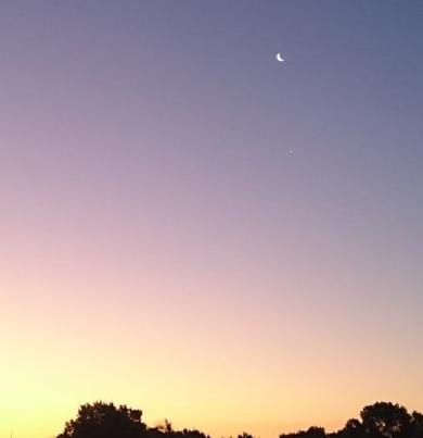 """El """"Beso celestial"""" entre la Luna y Venus: Se puede apreciar está noche"""