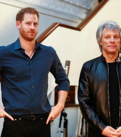 El Príncipe Harry y Bon Jovi graban canciones en Abbey Road para caridad