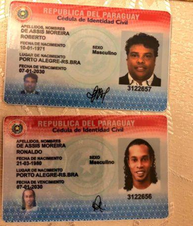 """Ronaldinho utilizó documento falso que recibió como """"regalo"""" para ingresar a Paraguay, confirma Fiscalía"""
